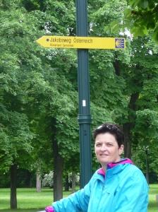 Ook vanaf Oost Oostenrijk kun je wandelen naar Santiago.