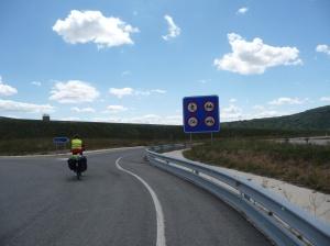 Snelweg tussen Tiermas en Yesa