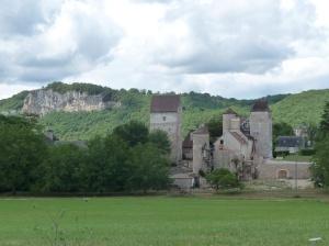 Afdaling naar de Dordogne