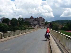 Brug over de Dordogne.