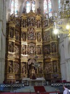 Burgos. Kathedraal. Volgens Toine een van de mooiste.